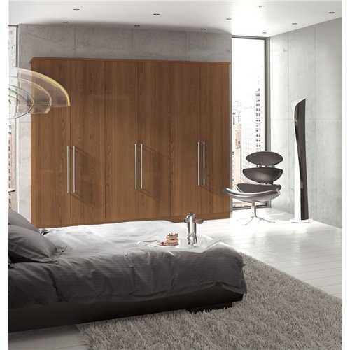 Bretton Park Mirrored Corner Single Hanging Unit - 2 Shelf abney