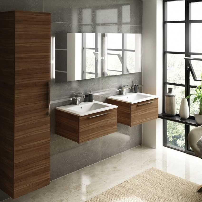 Modular bathroom cabinets