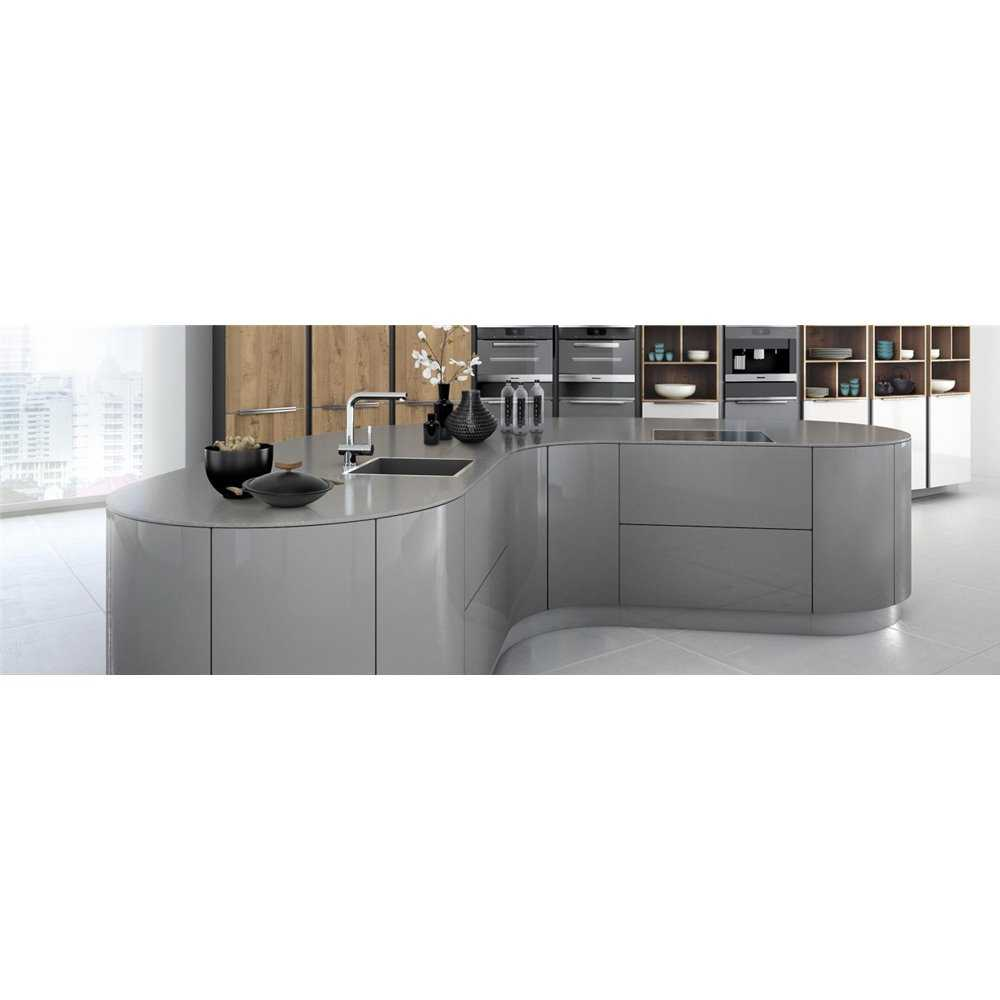 Silestone Quartz Chrome Solid Surface Kitchen Worktops