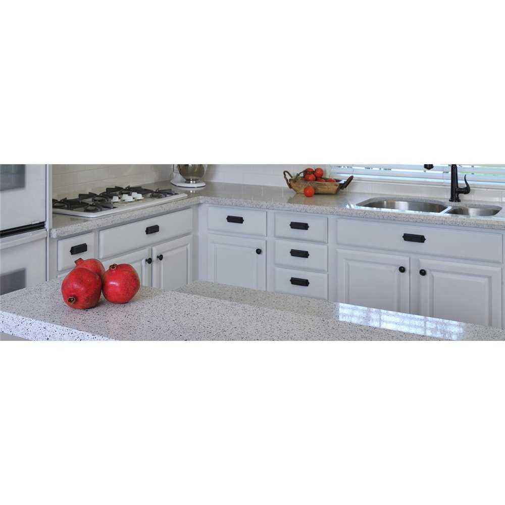 Silestone Quartz White Platinum Solid Surface Kitchen Worktops