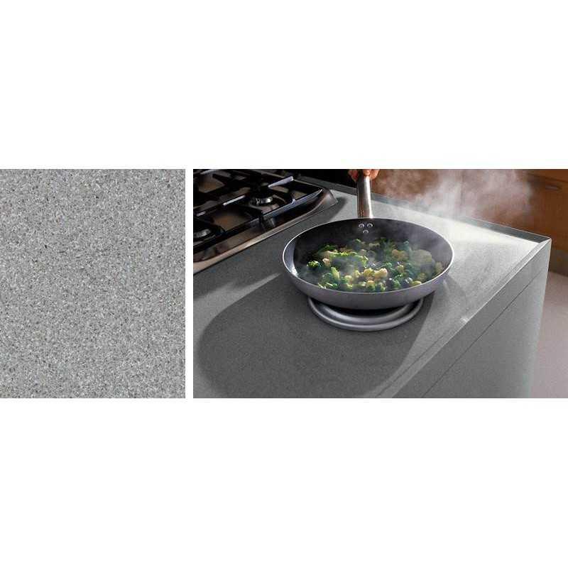 Silestone quartz aluminio nube solid surface kitchen worktops - Silestone aluminio nube ...