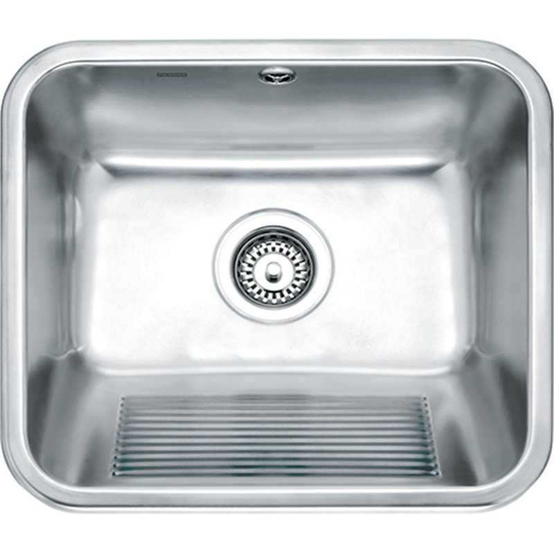 Franke UTX610 Single Utility Bowl Stainless Steel