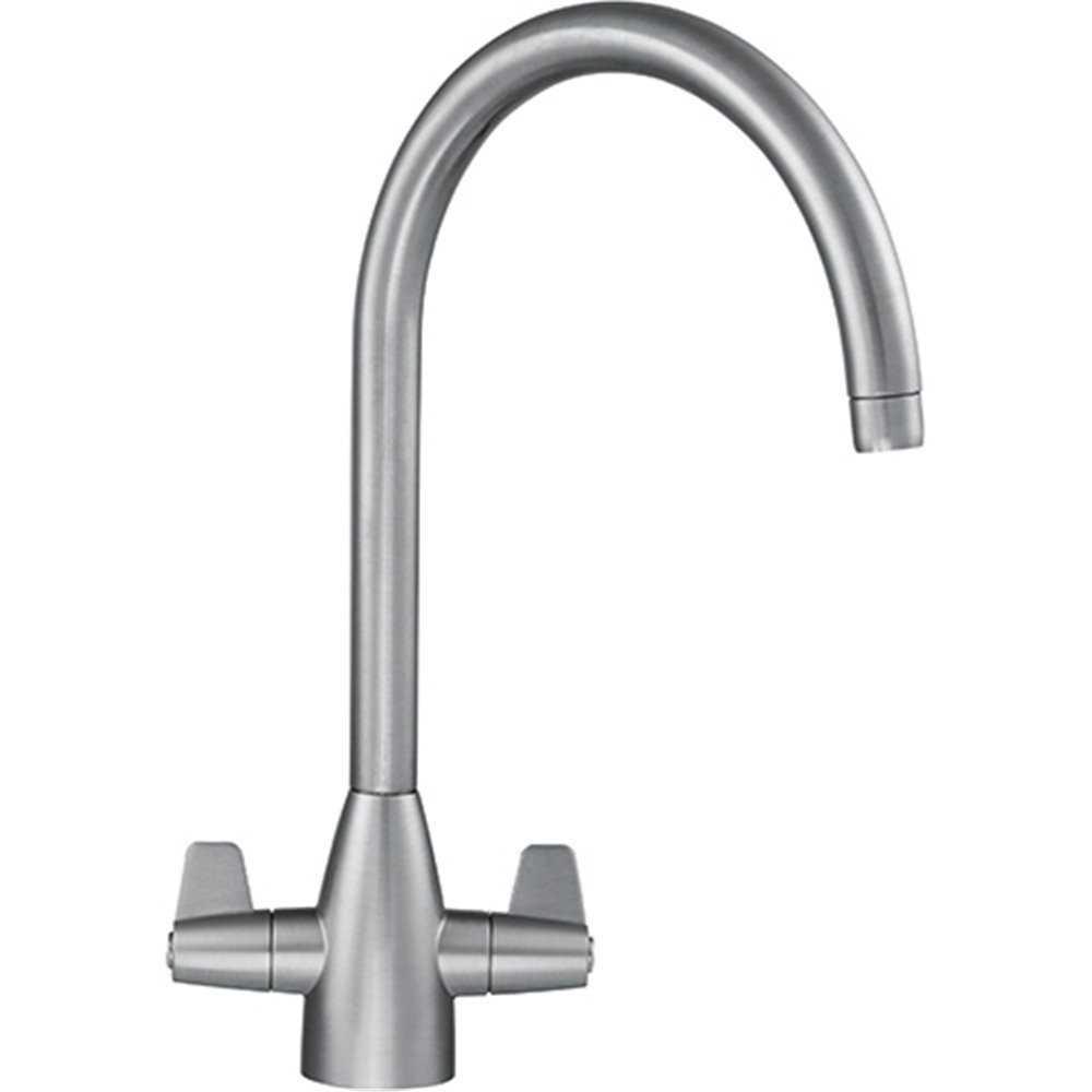 franke davos j chrome silksteel kitchen sink mixer tap. Black Bedroom Furniture Sets. Home Design Ideas