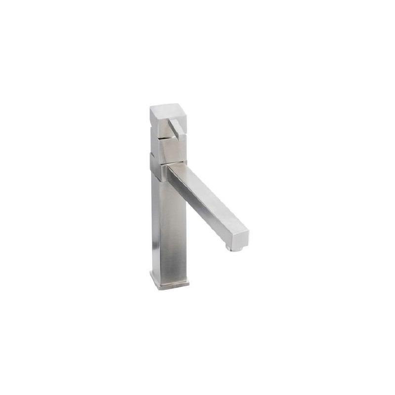 Abode Gino Single Lever Tap - Stainless Steel