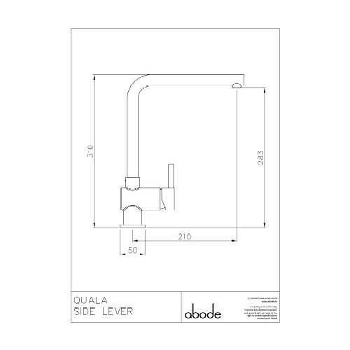 Abode Quala Tap - Stainless Steel