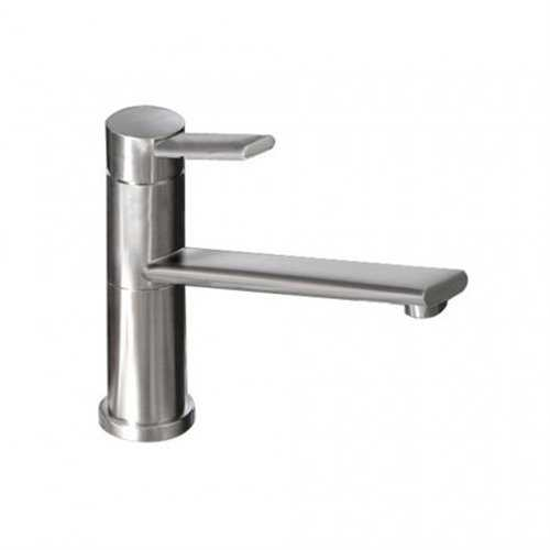 Abode Specto Single Lever Tap Brushed Nickel Finish