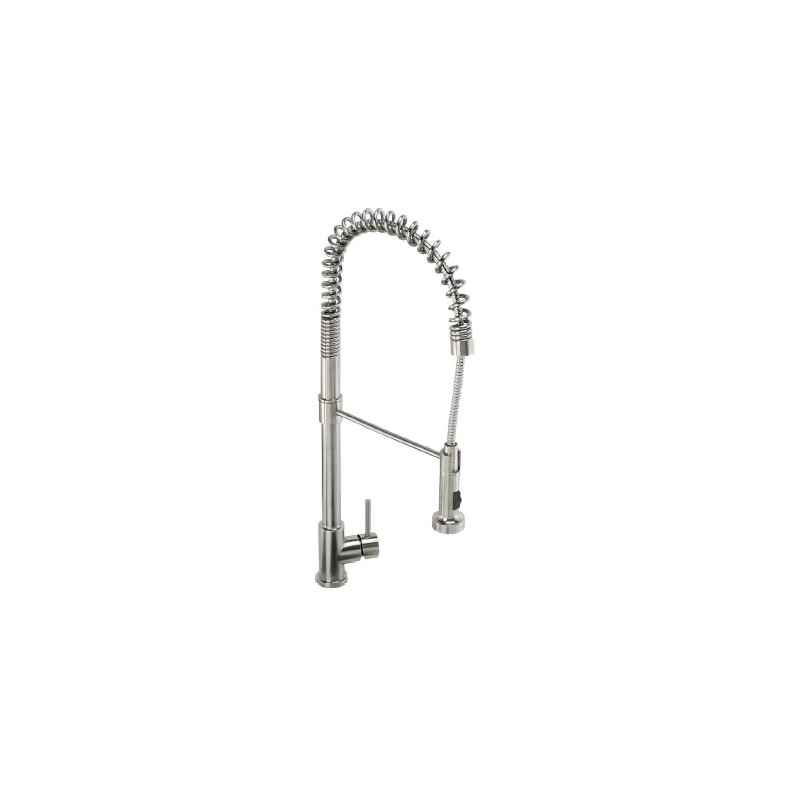 Abode Stalto Professional Tap - Stainless Steel