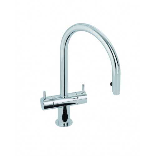 Abode Hesta Pull Out Tap Chrome