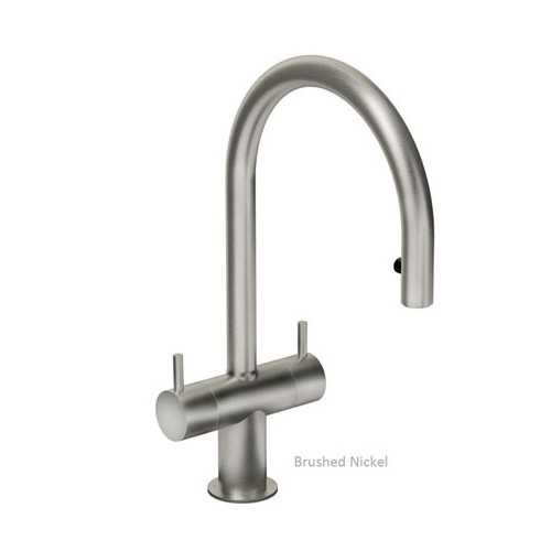 Abode Hesta Pull Out Tap Brushed Nickel Finish