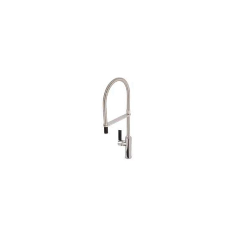Abode Ultero Professional Tap - Chrome/Black