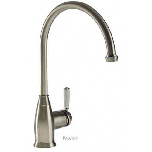 Abode Astbury Single Lever Tap Pewter Finish