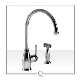 Abode Astbury Single Lever Handspray Tap