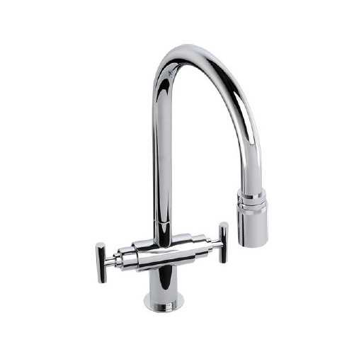 Abode Avior Pull Out Tap Chrome