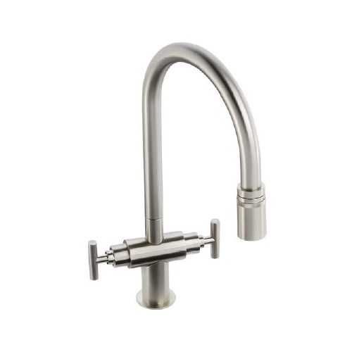 Abode Avior Pull Out Tap Brushed Nickel