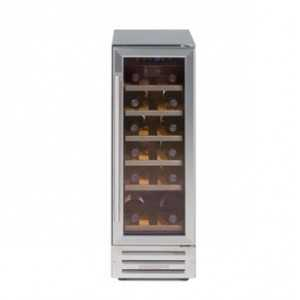 Newworld 300mm Wine Cooler - Stainless Steel
