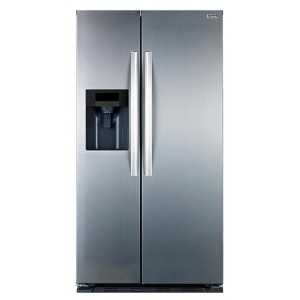 Stoves Freestanding Side-by-Side Fridge / Freezer - Stainless Steel