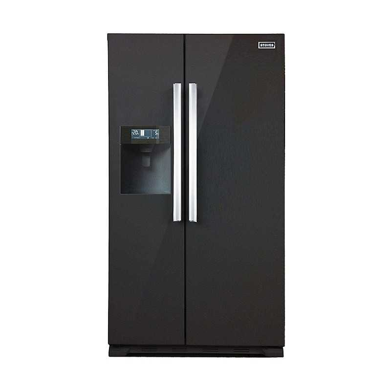 Stoves Freestanding Side By Side Stainless Steel Fridge