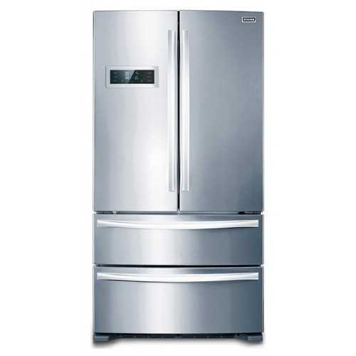 Stoves Freestanding Side-by-Side Fridge / Freezer with Drawers - Stainless Steel