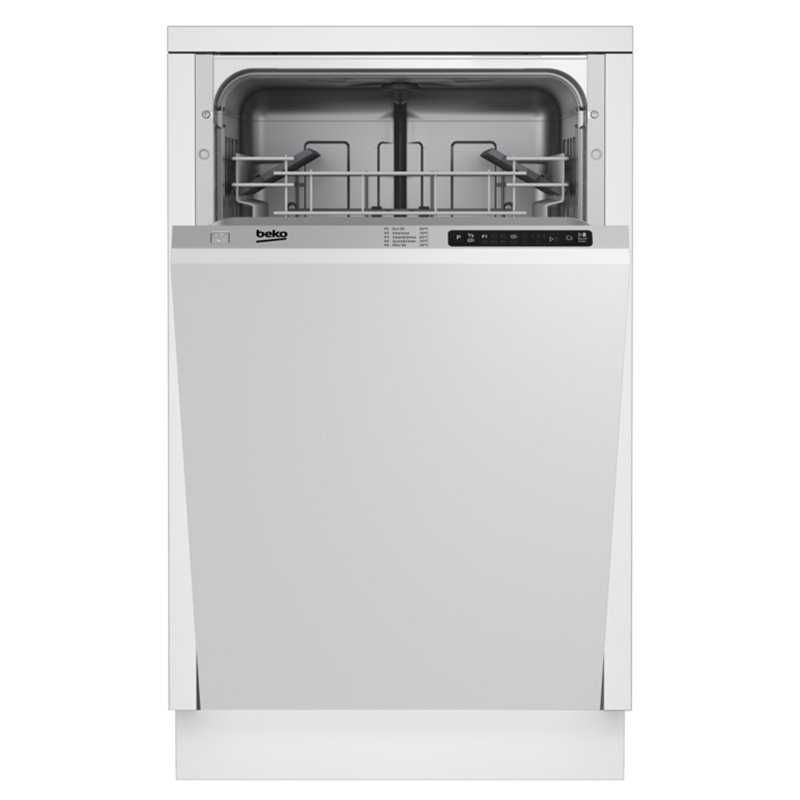 Kitchen Fittings Direct Voucher Code: Beko 45cm DIS15010 Deluxe Integrated Dishwasher
