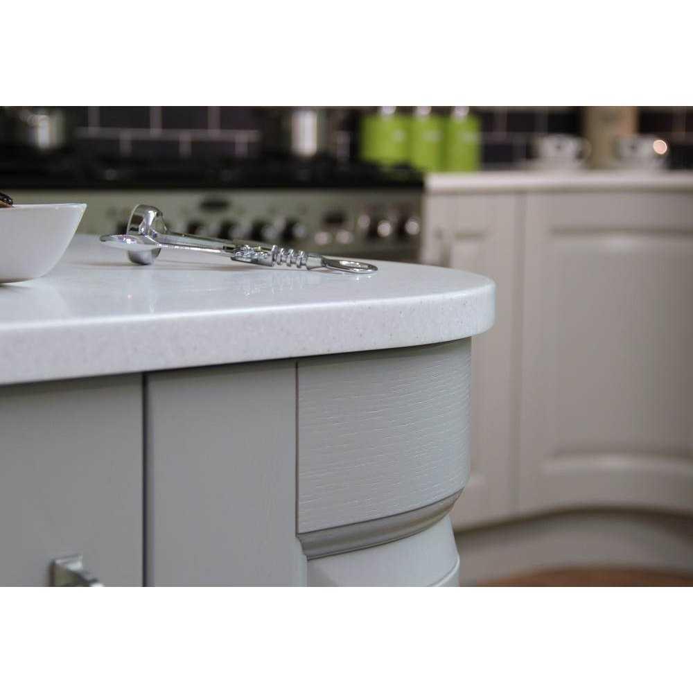 Mistral Mist Solid Surface Kitchen Worktops