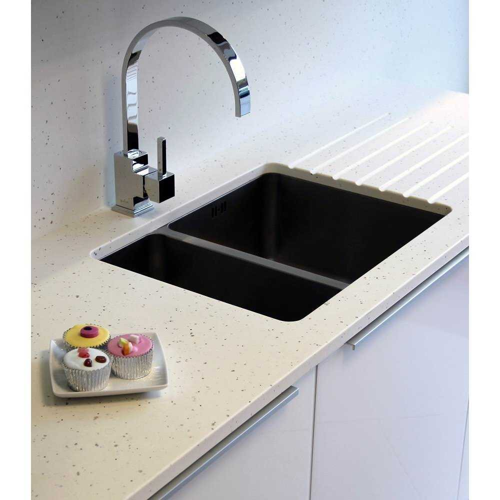 Mistral Vanilla Sky Solid Surface Kitchen Worktops