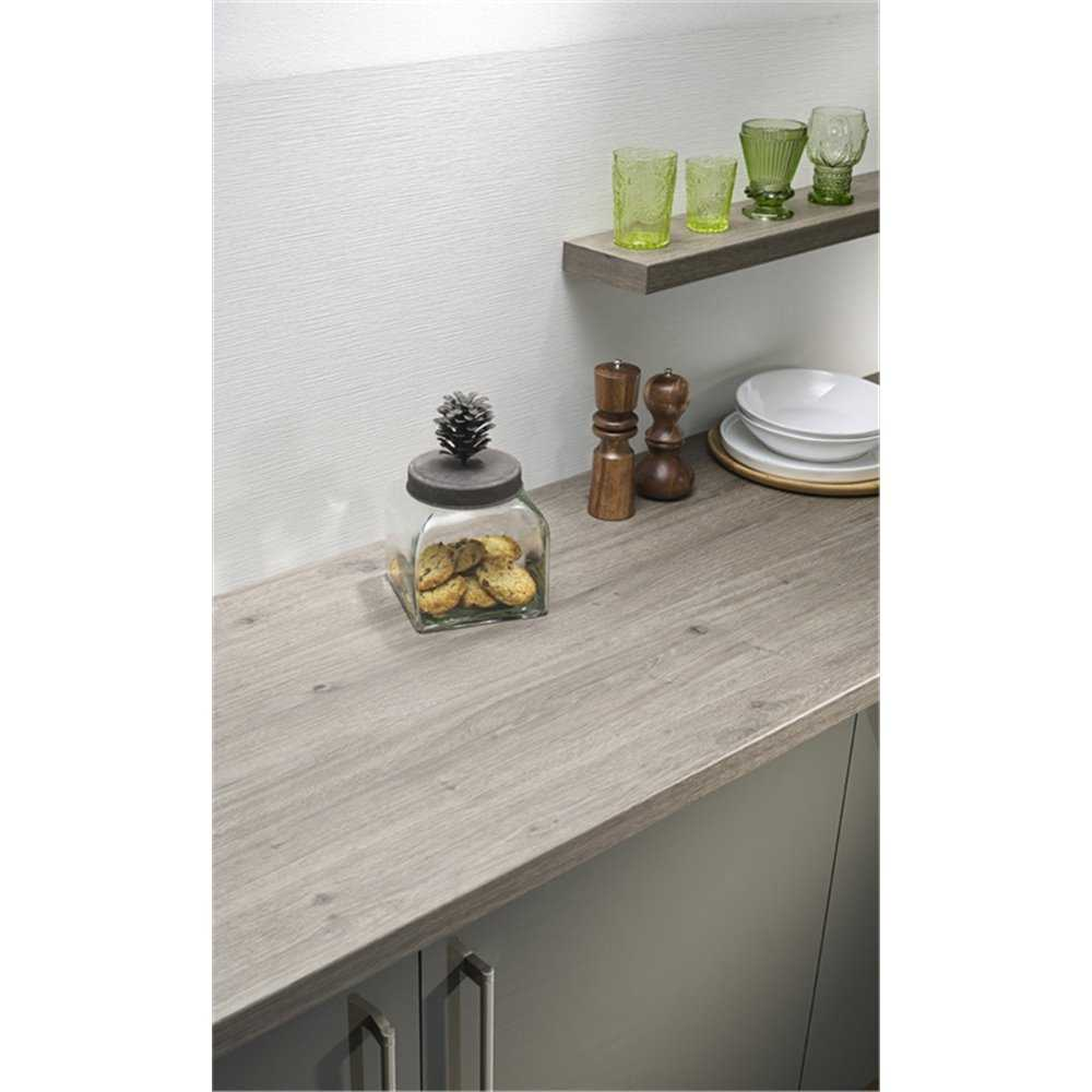 Kitchen Worktops Direct: Omega Tobacco Oak Ultramatt Finish Laminate Kitchen Worktop
