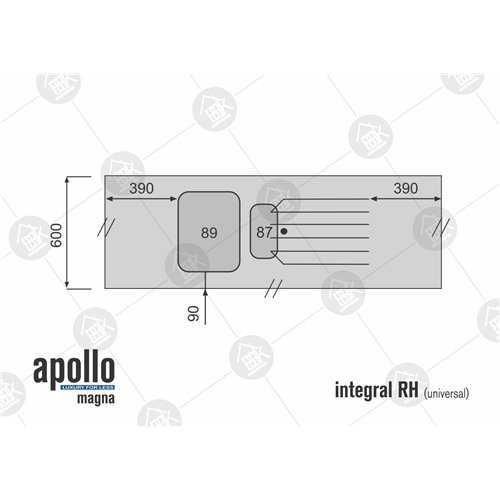 Apollo Magna Grey Shale