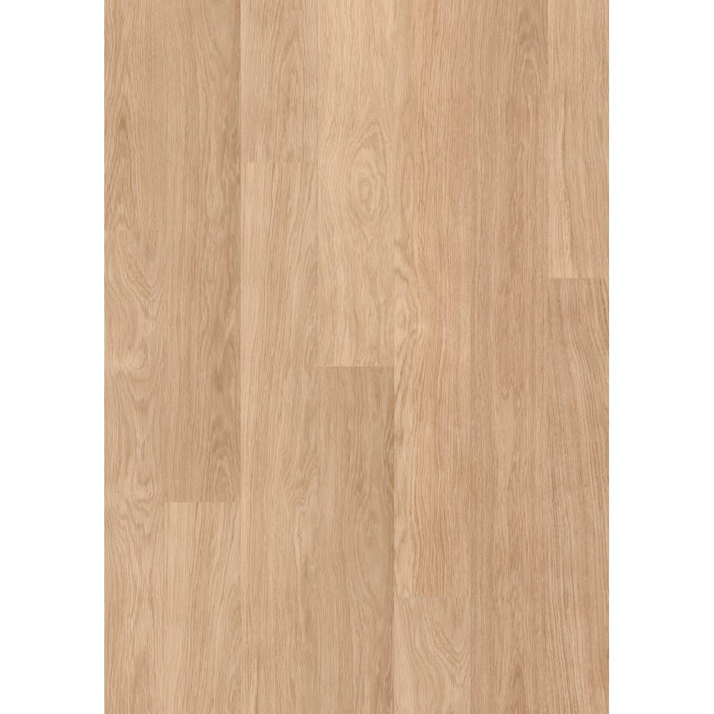 Quick step white varnished oak laminated flooring for Cheapest quick step laminate flooring