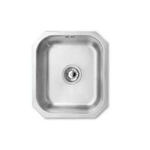 JPD Arun Single Bowl Brushed Stainless Steel Sink