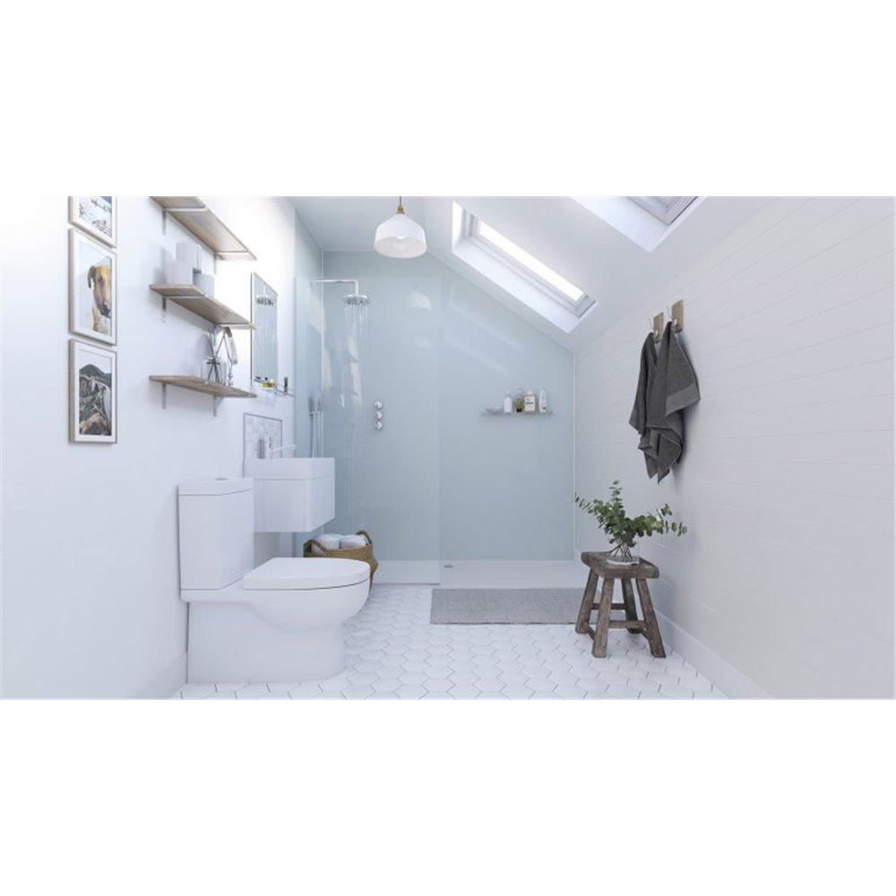 Showerwall Aqua Ice Bathroom Waterproof Wall Panelling