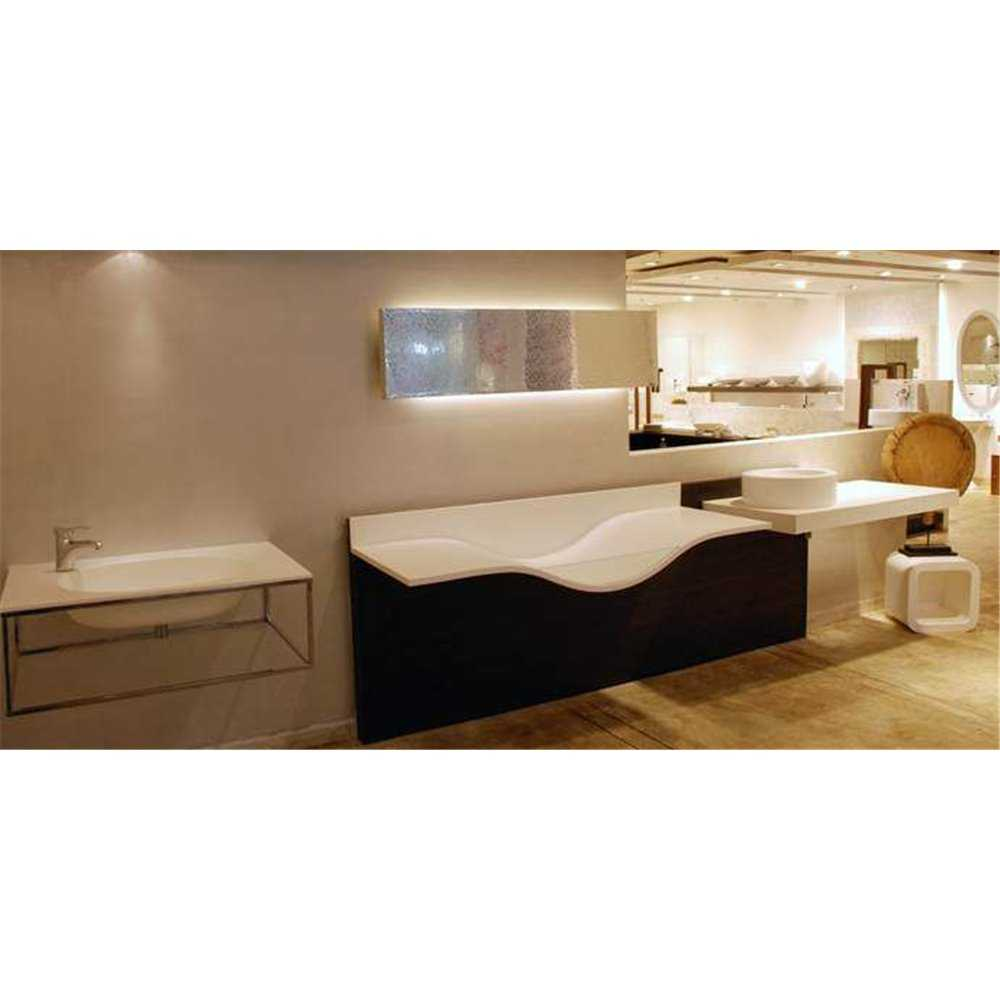 Corian Venaro White Solid Kitchen Worktop Surface