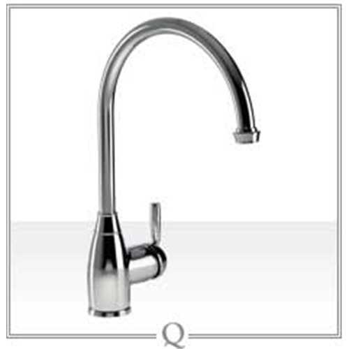 Abode Brompton Single Lever Tap Chrome