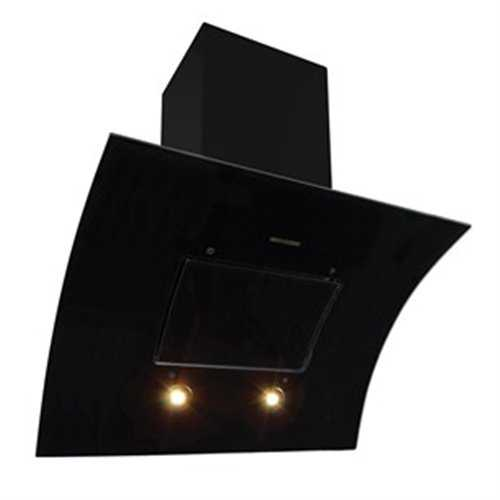 Flavel Curva Black Glass Hood