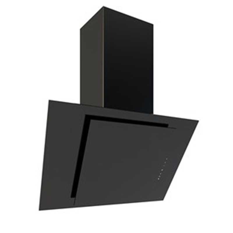 Flavel Black Glass Angled Hood