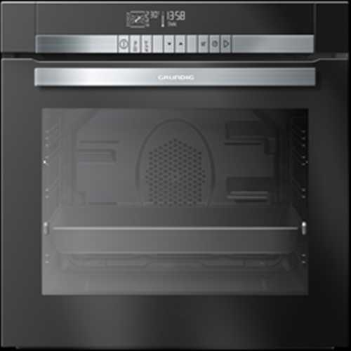 Grundig 60cm Pyrolitic oven with muliti-taste and chef assist