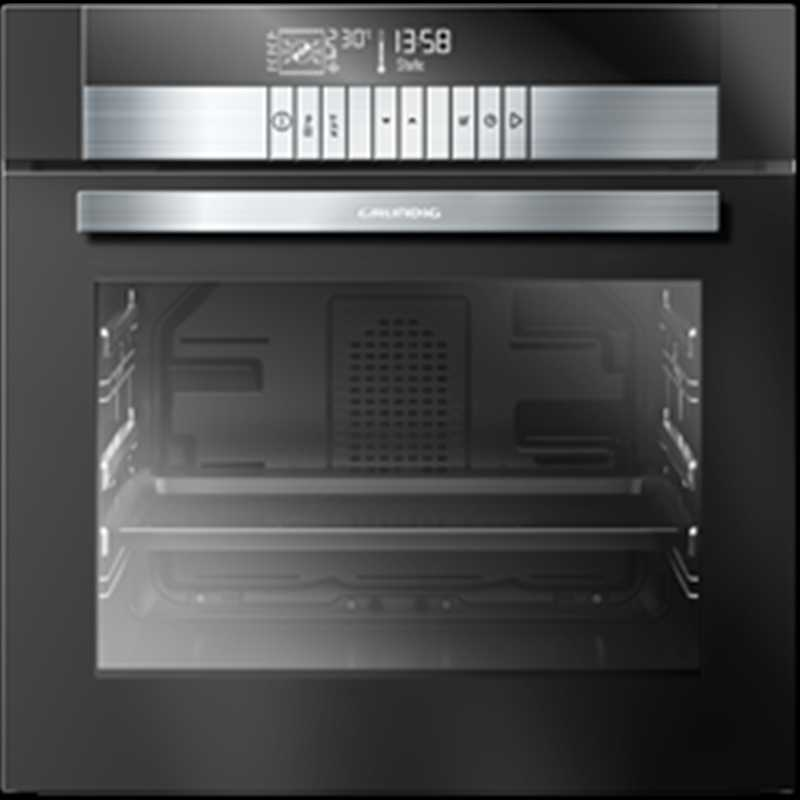 Grundig 60cm Single multifunction oven with steam assist & chef assist