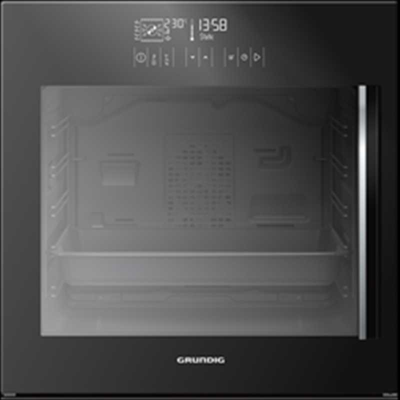 Grundig 60cm Single Multifunction Oven Side Door Multi