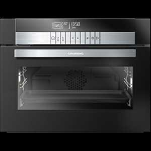 Grundig 45cm Compact multi-function oven with steam assist & chef assist