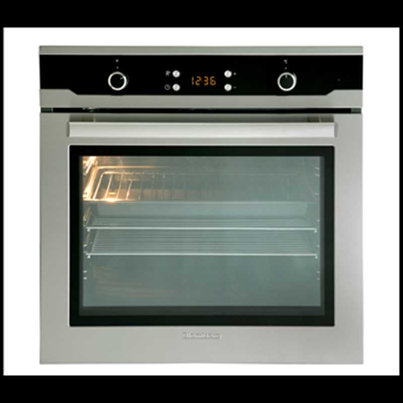 Single Fan Oven Part - 21: Blomberg 60cm Single Fan Oven With Fully Programmable LED Timer