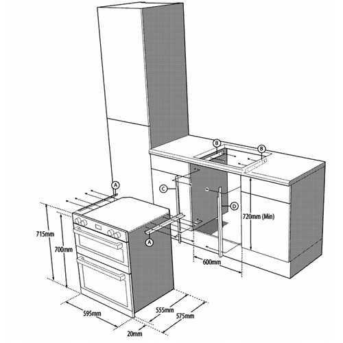 Blomberg Built under double fan oven