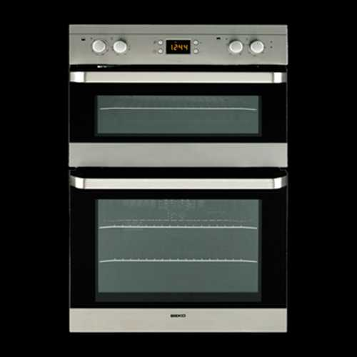Blomberg 90cm Multifunction double oven with fully programmable animated electronic timer