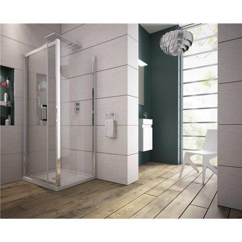 Luna Pivot Door Shower Enclosure