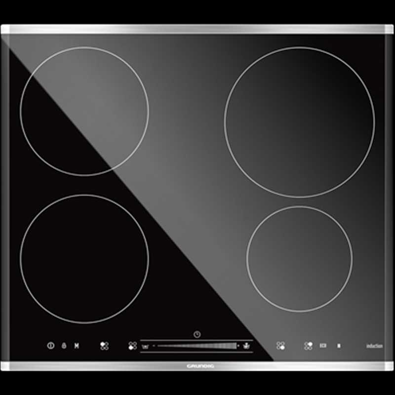 Grundig 60cm Induction hob with touch slider control