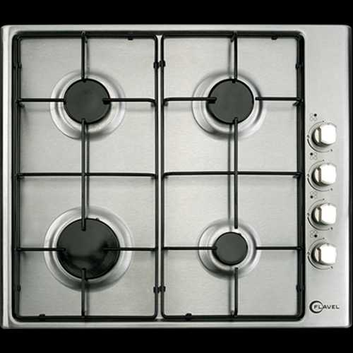 Flavel Gas hob with flame safety device
