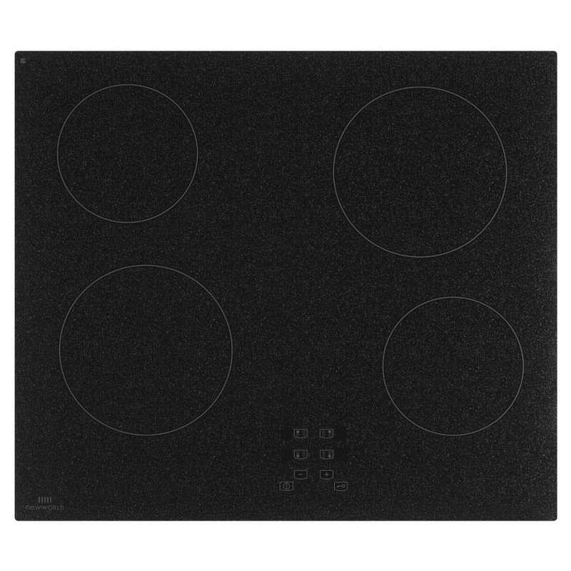 Newworld 60cm Black granite effect touch control ceramic hob