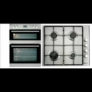 Flavel 90cm Built-in double electric oven and Hob Pack