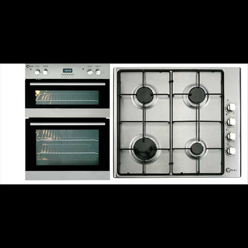 Flavel 90cm Built In Double Electric Oven Amp Hob Pack