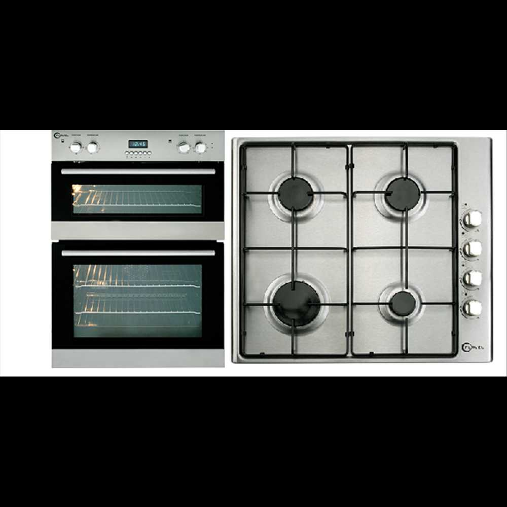 flavel 90cm built in double electric oven hob pack. Black Bedroom Furniture Sets. Home Design Ideas