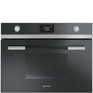 Smeg 60cm Compact combination microwave oven
