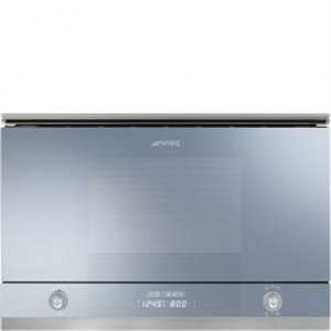 Smeg Microwave oven with  electric grill (320mm depth)